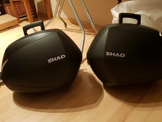 Meine Koffer für meine Lady sind da