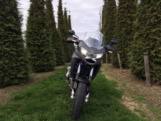Meine erste Ausfahrt Honda Crossrunner X RC80