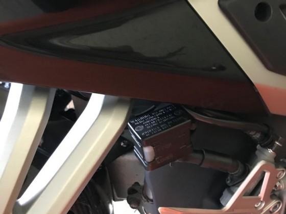 Bremsbehälter hinten