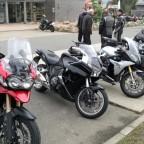Mit 3 BMW's und einer Triumph zum Brocken