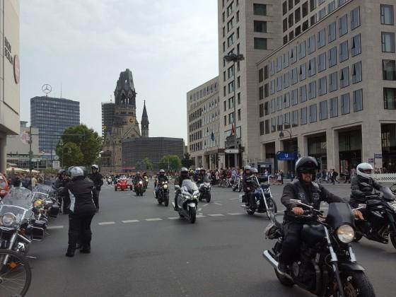 Sternenfahrt in Berlin 26.08.2017
