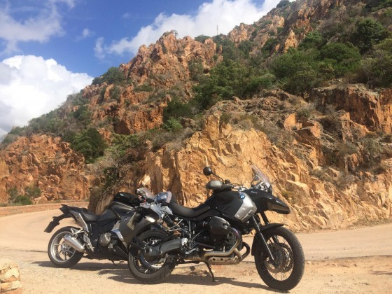 Impressionen Korsika Tour 2016