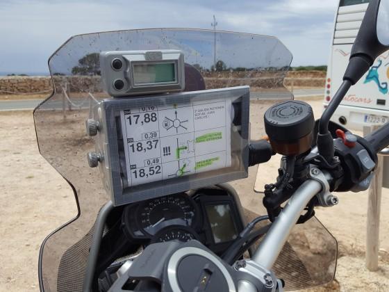 Navigation auf Formentera