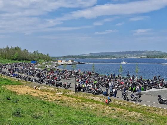01.Mai 2019 Bikerausfahrt zum Geiseltalsee
